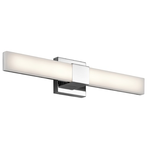 Elan Lighting Elan Lighting Neltev Chrome LED Bathroom Light 83736