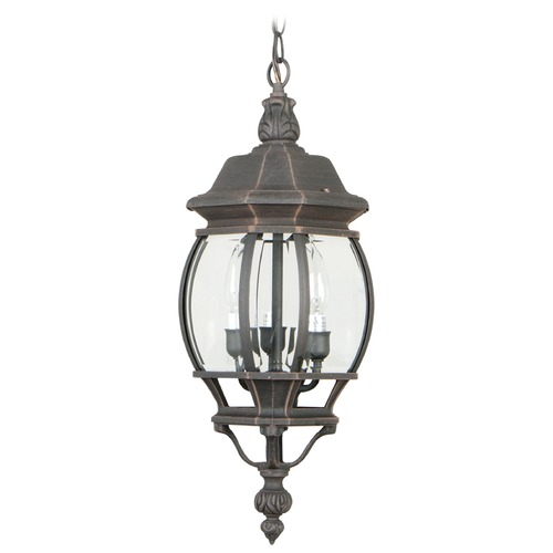 Craftmade Lighting Craftmade Lighting French Style Rust Outdoor Hanging Light Z331-07