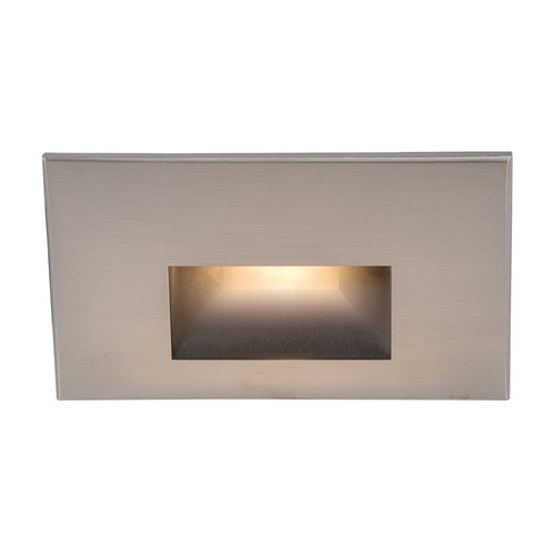 WAC Lighting Wac Lighting Brushed Nickel LED Recessed Step Light WL-LED100-AM-BN