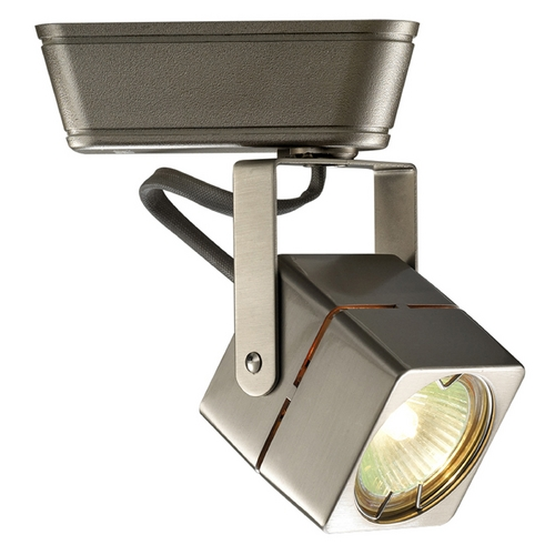 WAC Lighting WAC Lighting Brushed Nickel Low Voltage Track Light For J-Track JHT-802L-BN