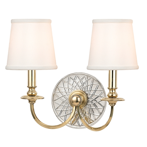 Hudson Valley Lighting Hudson Valley Lighting Yates Aged Brass Sconce 1882-AGB