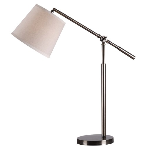 Kenroy Home Lighting Kenroy Home Lighting Tilt Dark Antique Brass Task / Reading Lamp 32572DAB