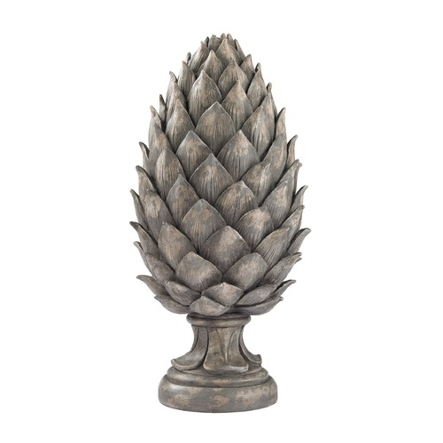 Sterling Lighting Aged Grey Pine Cone 87-002
