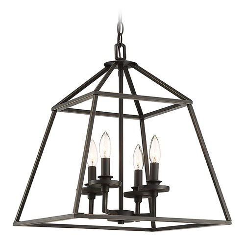 Savoy House Savoy House Lighting Braxton Classic Bronze Pendant Light 3-9099-4-44