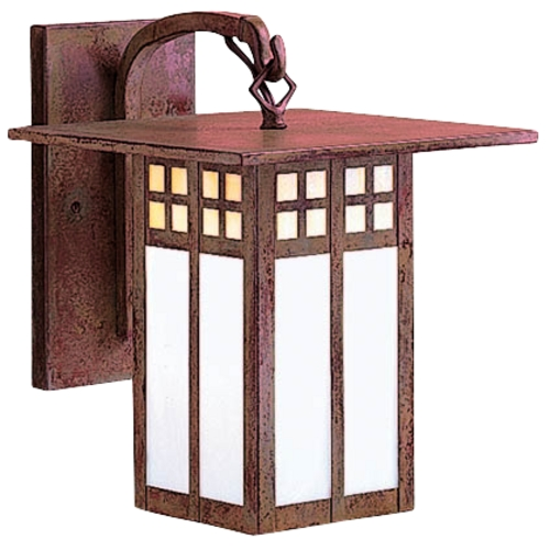 Arroyo Craftsman Lighting 9-3/4-Inch Outdoor Wall Light GB6L-C/RC