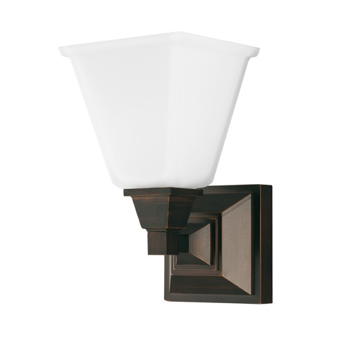 Sea Gull Lighting Sea Gull Lighting Denhelm Burnt Sienna Sconce 4150401-710
