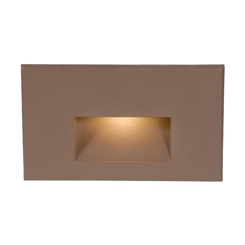 WAC Lighting WAC Lighting Bronze LED Recessed Step Light WL-LED100-AM-BZ