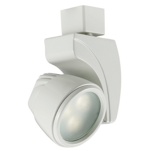 WAC Lighting Wac Lighting White LED Track Light Head L-LED9F-WW-WT