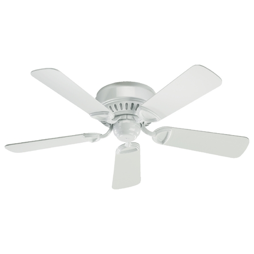 Quorum Lighting Quorum Lighting Medallion White Ceiling Fan Without Light 51425-6