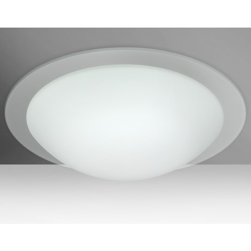 Besa Lighting Besa Lighting Ring LED Flushmount Light 977000C-LED