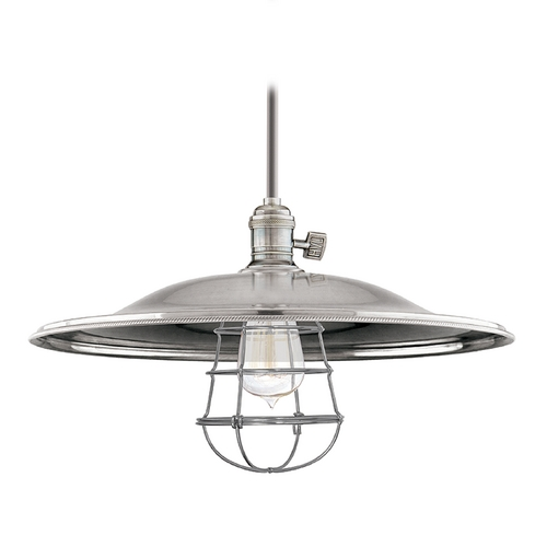 Hudson Valley Lighting Pendant Light in Historic Nickel Finish 9001-HN-ML2-WG
