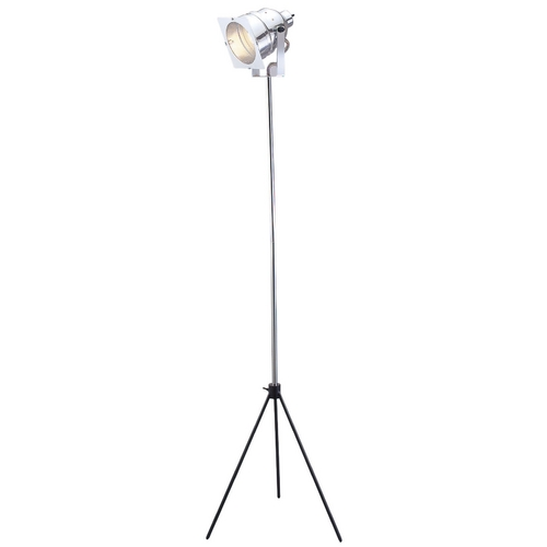 Adesso Home Lighting Modern Floor Lamp in Chrome Finish 3051-22