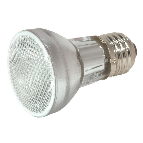 Satco Lighting Halogen PAR16 Light Bulb Medium Base Narrow Flood 30 Degree Beam Spread 2900K 120V Dimmable S2203