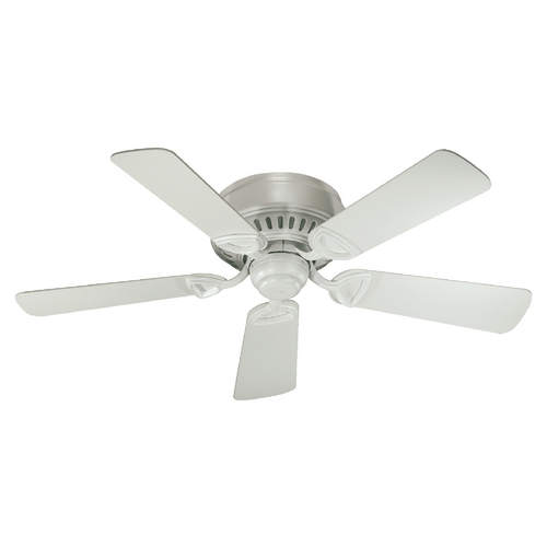 Quorum Lighting Quorum Lighting Medallion Studio White Ceiling Fan Without Light 51425-8