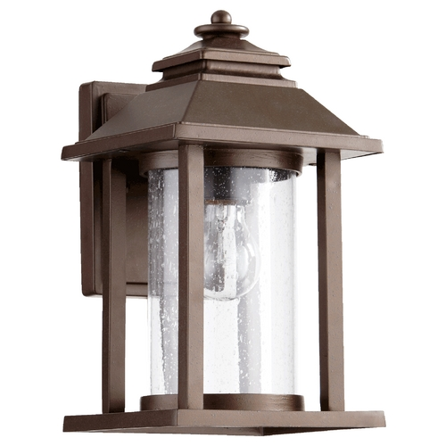 Quorum Lighting Quorum Lighting Crusoe Oiled Bronze Outdoor Wall Light 7271-86