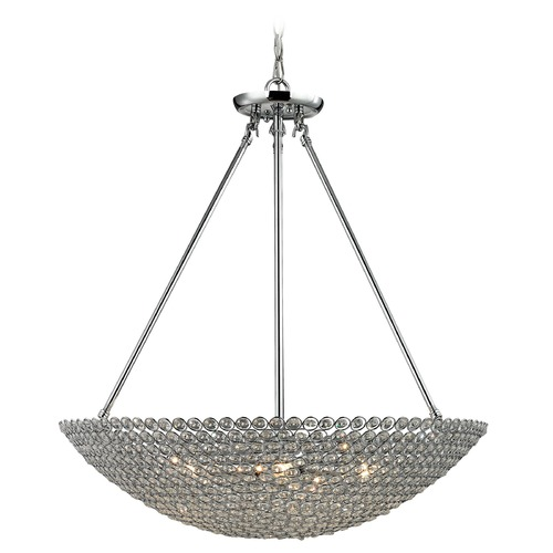 Elk Lighting Elk Lighting Hammond Polished Chrome Pendant Light 10483/5