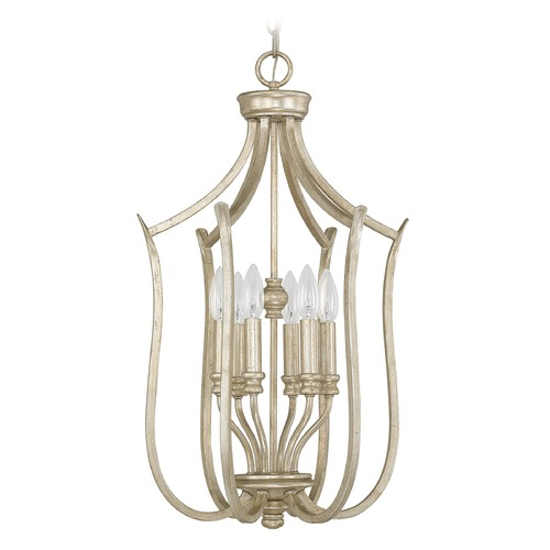 Capital Lighting Capital Lighting Bailey Winter Gold Pendant Light 4728WG