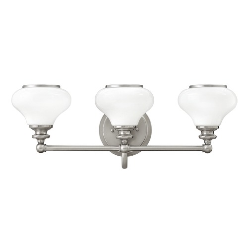 Hinkley Lighting Hinkley Lighting Ainsley Brushed Nickel Bathroom Light 56553BN