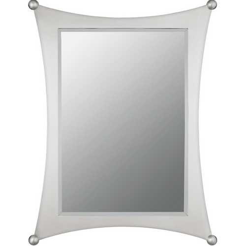 Quoizel Lighting Jasper Rectangle 24.38-Inch Quoizel Mirror JA43225BN