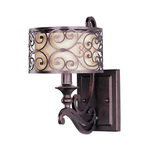 Maxim Lighting Maxim Lighting Mondrian Umber Bronze Sconce 21152WHUB