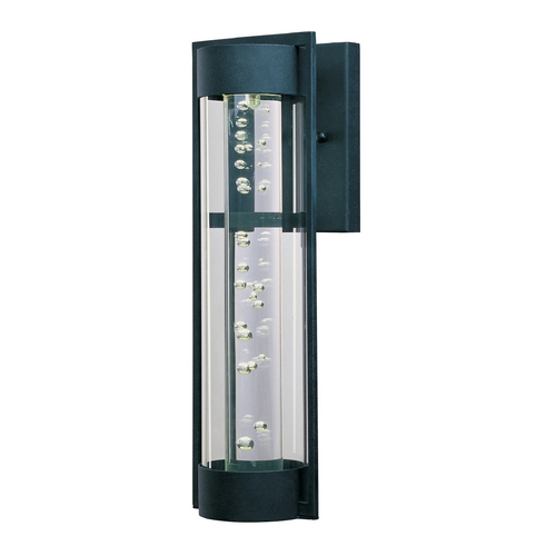 Maxim Lighting Maxim Lighting New Age LED Texture Ebony LED Outdoor Wall Light 88353CLTE