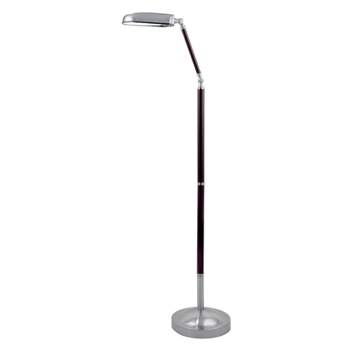 Lite Source Lighting Lite Source Lighting Nuncio Polished Steel Floor Lamp LS-81922