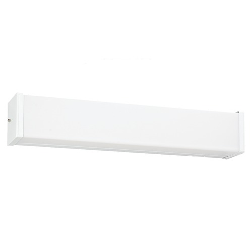 Sea Gull Lighting Modern Bathroom Light with White in White Finish 49024LE-15