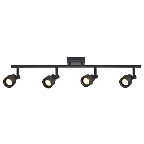 Recesso Lighting by Dolan Designs Track Light with 4 Stepped Cylinder Spot Lights - Bronze - GU10 Base TR0204-BZ
