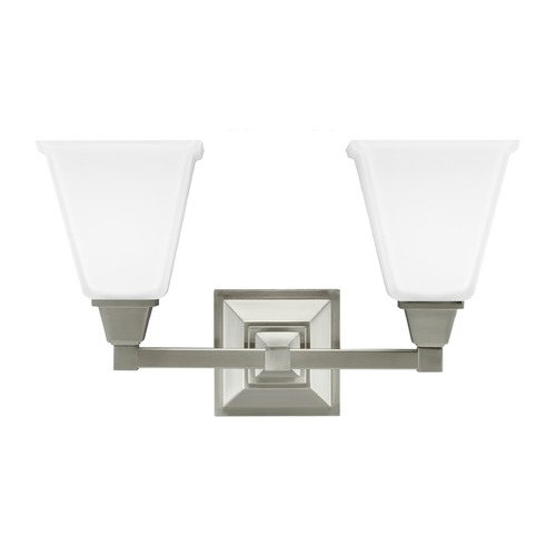 Sea Gull Lighting Sea Gull Lighting Denhelm Brushed Nickel Bathroom Light 4450402-962