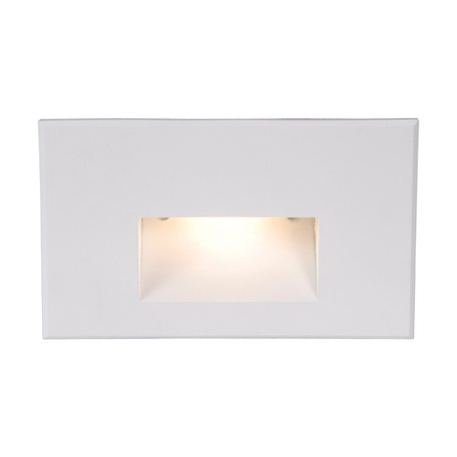 WAC Lighting Wac Lighting White LED Recessed Step Light WL-LED100-AM-WT