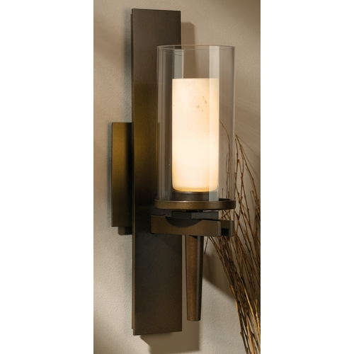 Hubbardton Forge Lighting Hubbardton Forge Lighting Constellation Bronze Sconce 204301-05-ZV323