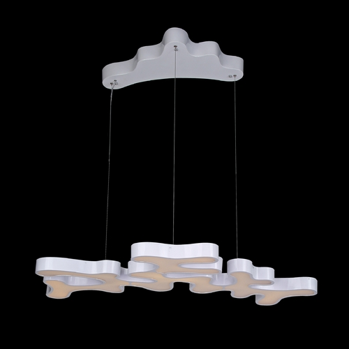 Avenue Lighting Avenue Lighting Coral Reef Court Silver LED Pendant Light HF2000-SLV