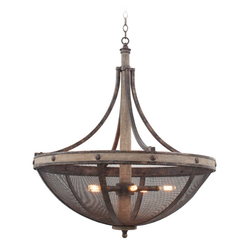 Kalco Lighting Kalco Lighting Coronado Florence Gold Pendant Light 7045FG