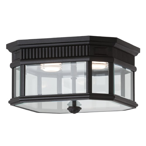 Feiss Lighting Feiss Lighting Cotswold Lane Black LED Close To Ceiling Light OL5413BK-LED