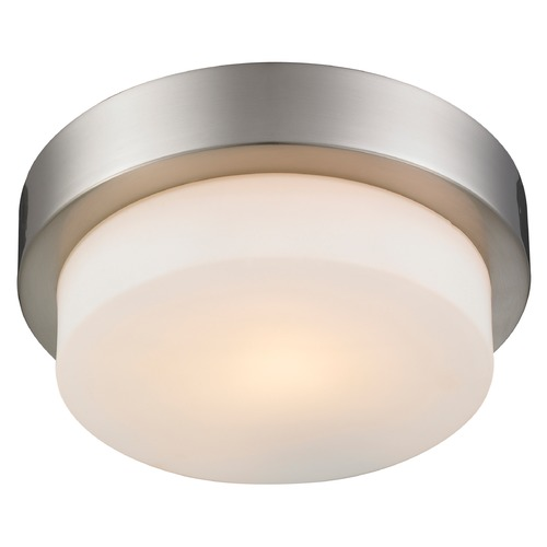 Golden Lighting Golden Lighting Pewter Flushmount Light 1270-09 PW