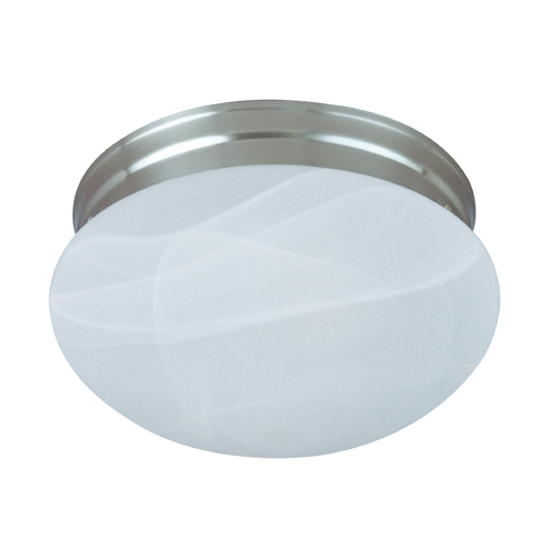 Maxim Lighting Maxim Lighting Essentials Satin Nickel Flushmount Light 5884MRSN