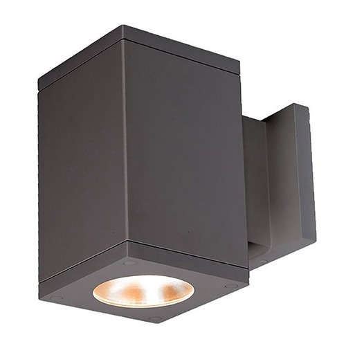WAC Lighting Wac Lighting Cube Arch Graphite LED Outdoor Wall Light DC-WS05-F827S-GH