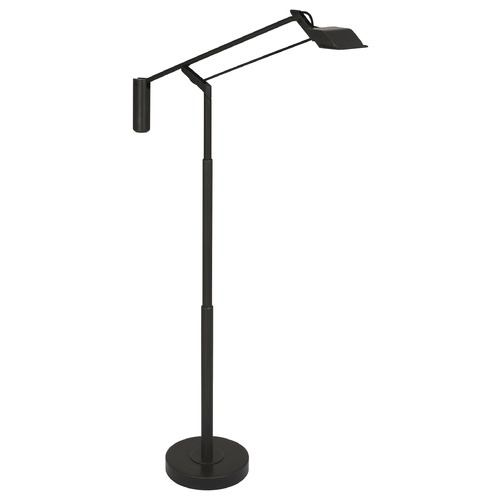 Robert Abbey Lighting Robert Abbey Lighting Heron Deep Patina Bronze LED Swing Arm Lamp with Rectangle Shade Z853