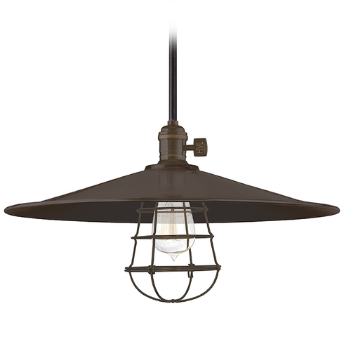 Hudson Valley Lighting Pendant Light in Old Bronze Finish 9001-OB-ML1-WG