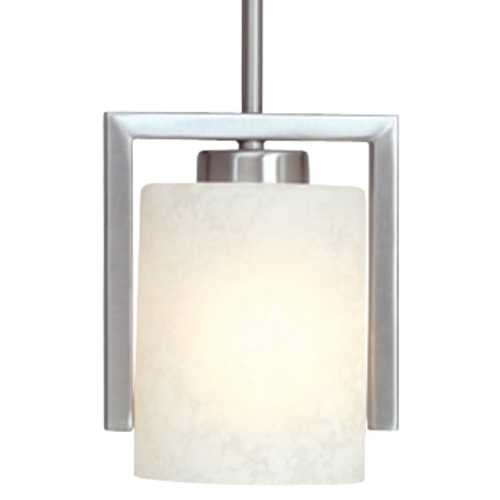 Dolan Designs Lighting Mini-Pendant with Glacier Glass 2241-09