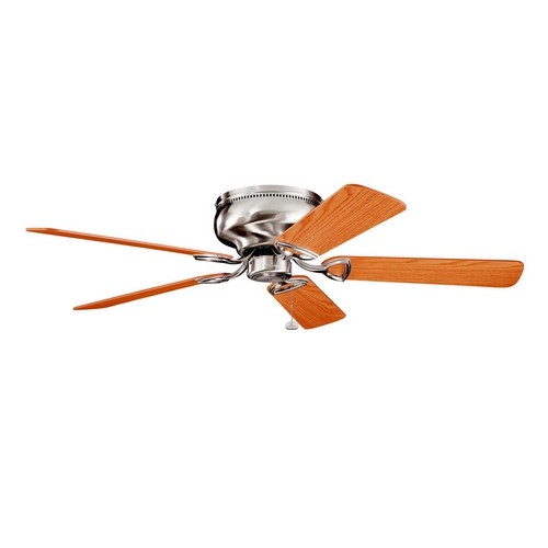 Kichler Lighting Kichler Low Profile 52-Inch Ceiling Fan with Five Blades 339022BSS