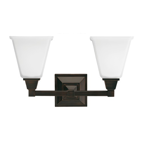 Sea Gull Lighting Sea Gull Lighting Denhelm Burnt Sienna Bathroom Light 4450402-710