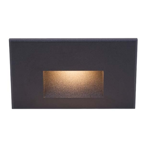 WAC Lighting Wac Lighting Black LED Recessed Step Light WL-LED100-C-BK