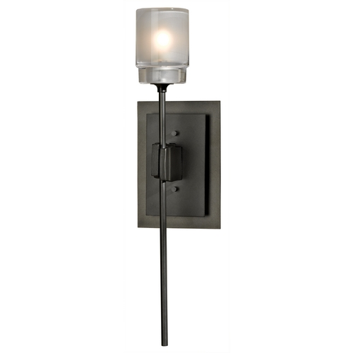 Hubbardton Forge Lighting Hubbardton Forge Lighting Echo Dark Smoke Sconce 204320-SKT-07-YC0369