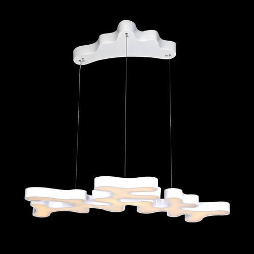 Avenue Lighting Avenue Lighting Coral Reef Court White LED Pendant Light HF2000-WHT
