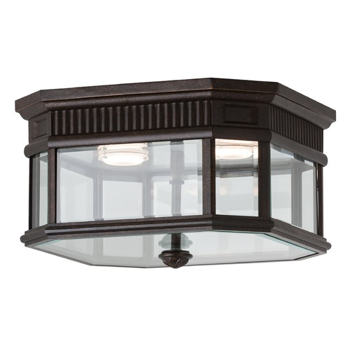 Feiss Lighting Feiss Lighting Cotswold Lane Grecian Bronze LED Close To Ceiling Light OL5413GBZ-LED