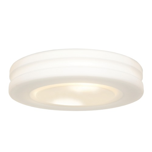 Access Lighting Access Lighting Altum White LED Flushmount Light 50187LEDD-WH/OPL