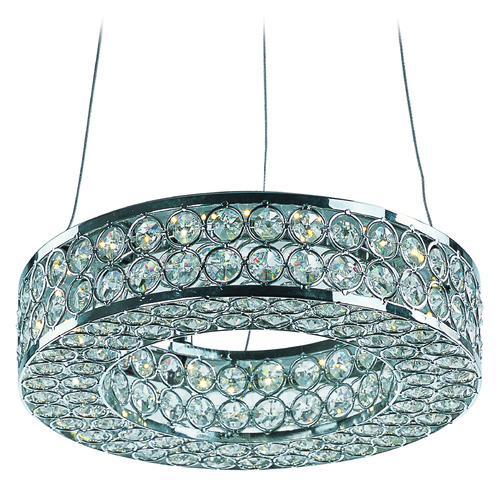 Maxim Lighting Maxim Lighting International Eternity LED Polished Chrome LED Mini-Pendant Light 39771BCPC