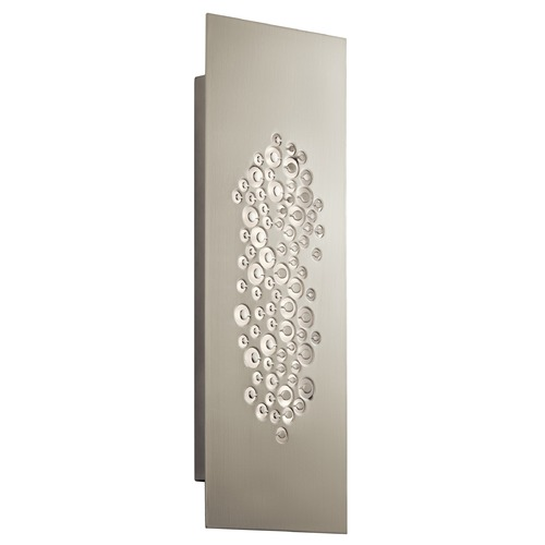 Elan Lighting Elan Lighting Lilla Brushed Nickel LED Sconce 83685