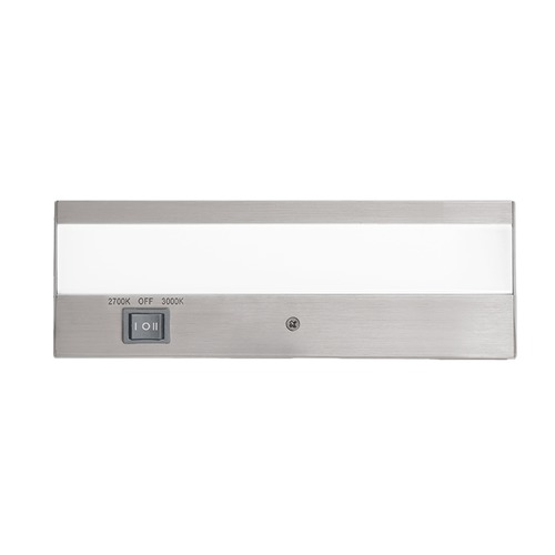 WAC Lighting WAC Lighting Duo Brushed Aluminum 8-Inch LED Under Cabinet Light BA-ACLED8-27/30AL